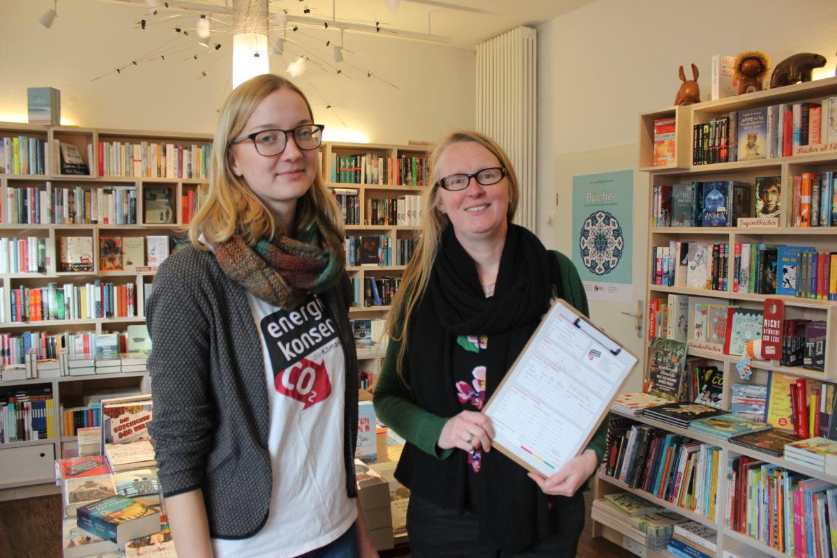 Leidenschaftliche Radfahrerin mit Herz für den Klimaschutz:  Sabine Stiehler vom Logbuch