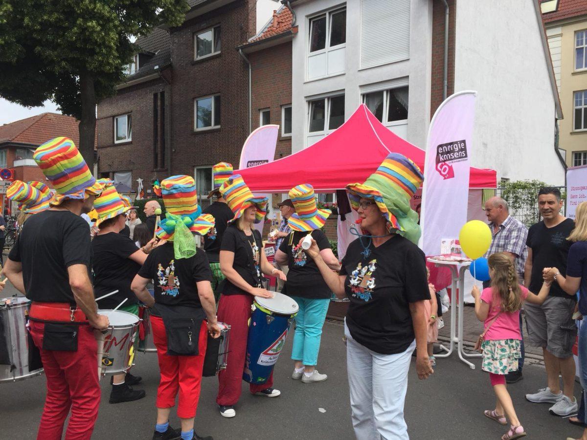 Samba, Klima und viel Kultur: energiekonsens beim Waller Stadtteilfest